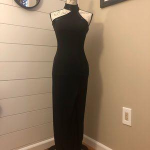 Stunning Black Cache Gown